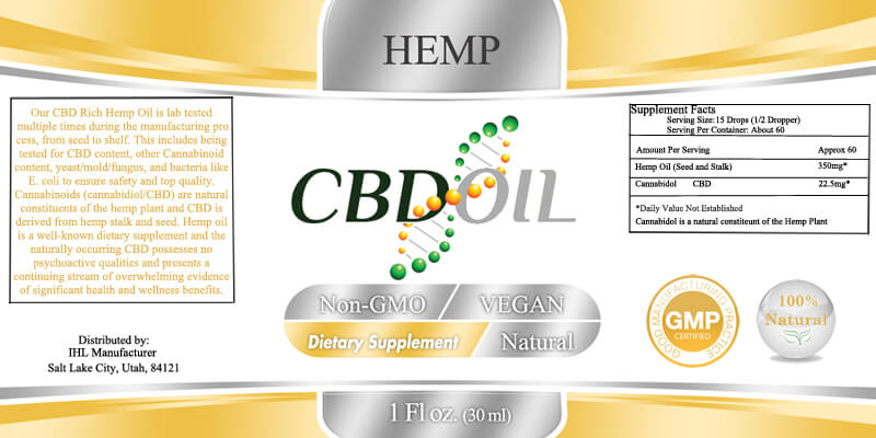 CBD Hemp Oil Manufacturer